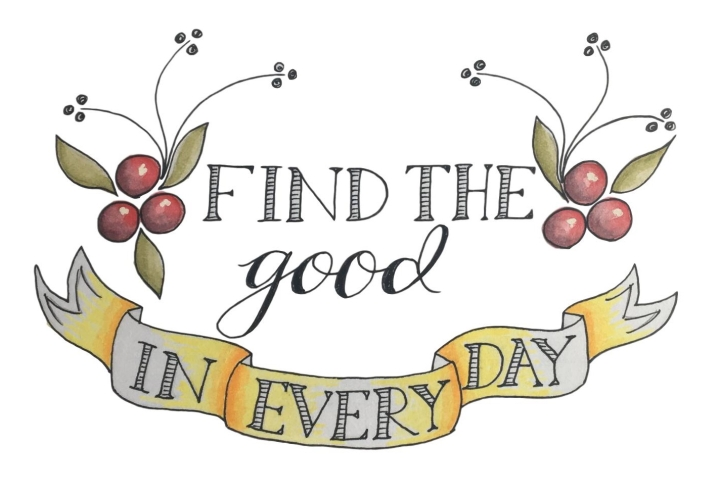 find the good in