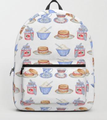 Cream Tea Backpack