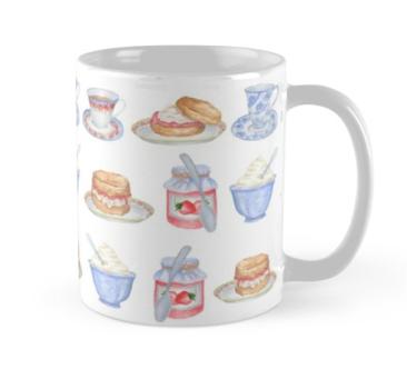 Cream Tea Mug