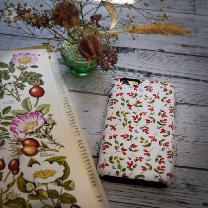 Rosehip phone cover (1 of 1)